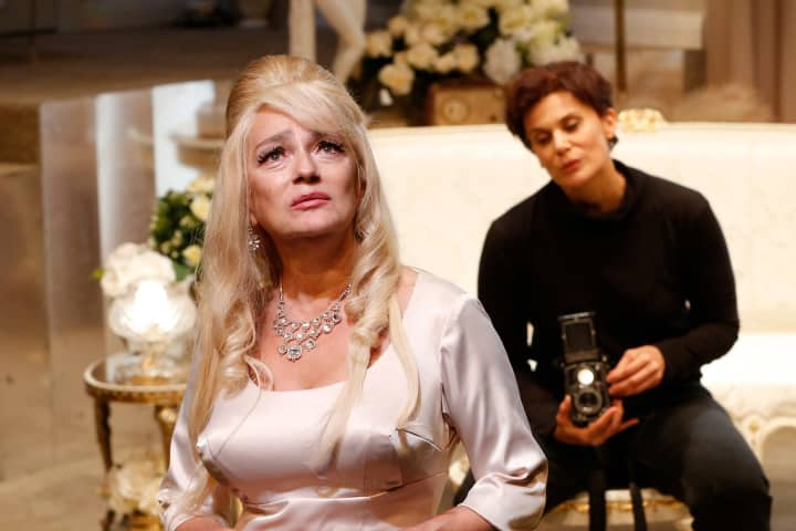 Melita Jurisic and Diana Glenn in Arbus & West