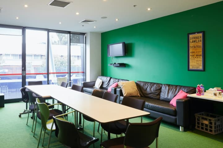 The Southbank Theatre green room. Photo: Tim Grey