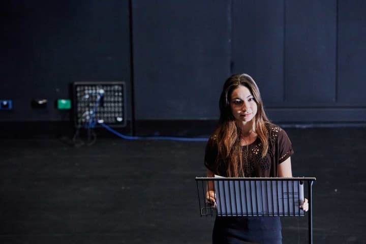 Emina Ashman rehearses for Cybec Electric, 2018