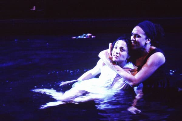 Daniela Farinacci & Margaret Harvey in Metamorphoses. Photo: Jeff Busby