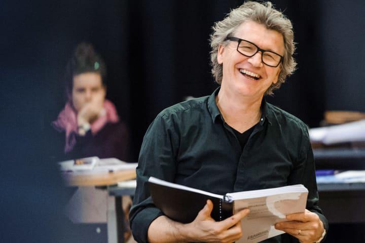 Simon Phillips during Shakespeare in Love rehearsals. Photo: Deryk McAlpin