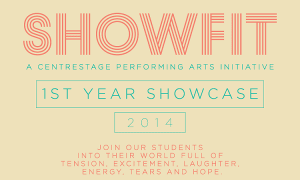 Artwork for First Year Showcase 2014