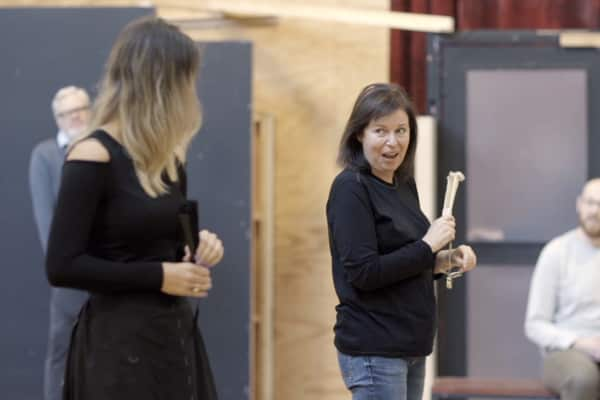 Artwork for Video   An Ideal Husband rehearsals