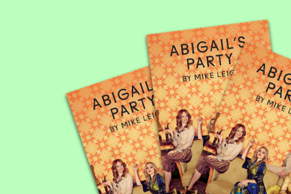 Abigail's Party programmes