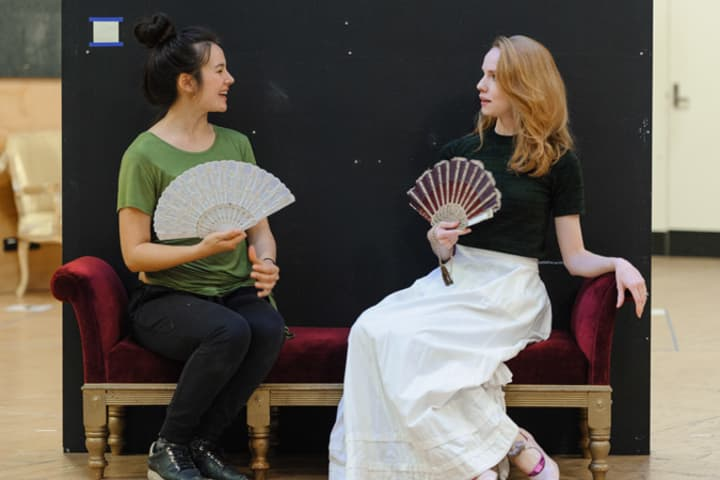 Artwork for Gallery | An Ideal Husband in rehearsal