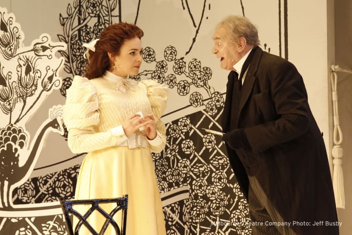Emily Barclay and Bob Hornery in The Importance of Being Earnest (2011)