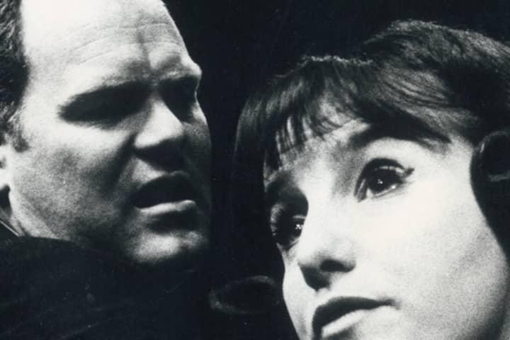 Malcolm Robertson with Elaine Cusick in Joe Egg (1968)