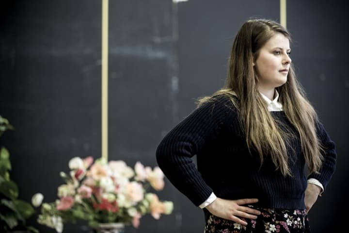 Alexandra Keddie in rehearsals. Photo by Brett Boardman
