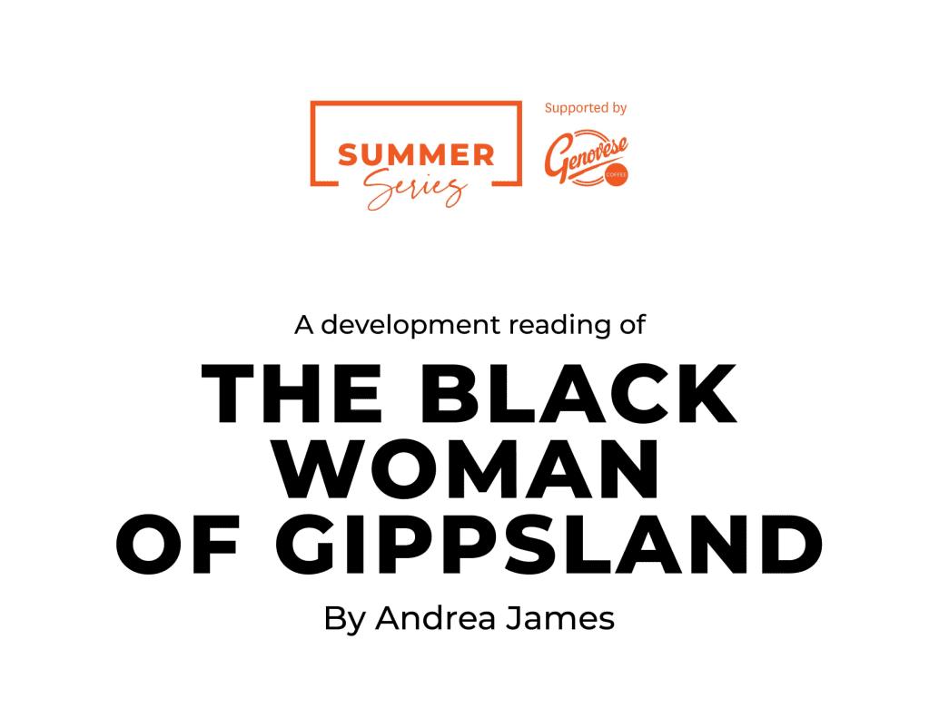The Black Woman of Gippsland
