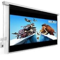 72 X 72 Electric Projection Screen