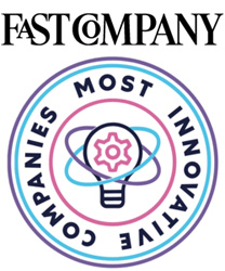 Fast Company Most Innovative Company Logo