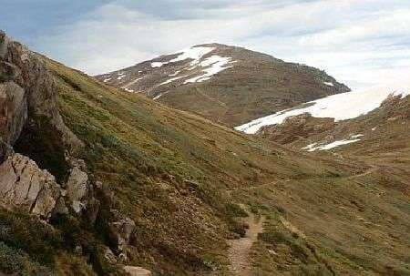 the trails to Mount Kosciuszko