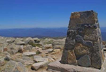 Mt Kosciuszko highest point