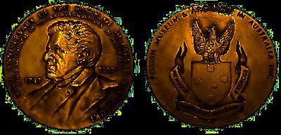 Medal Strzeleckiego w tombaku