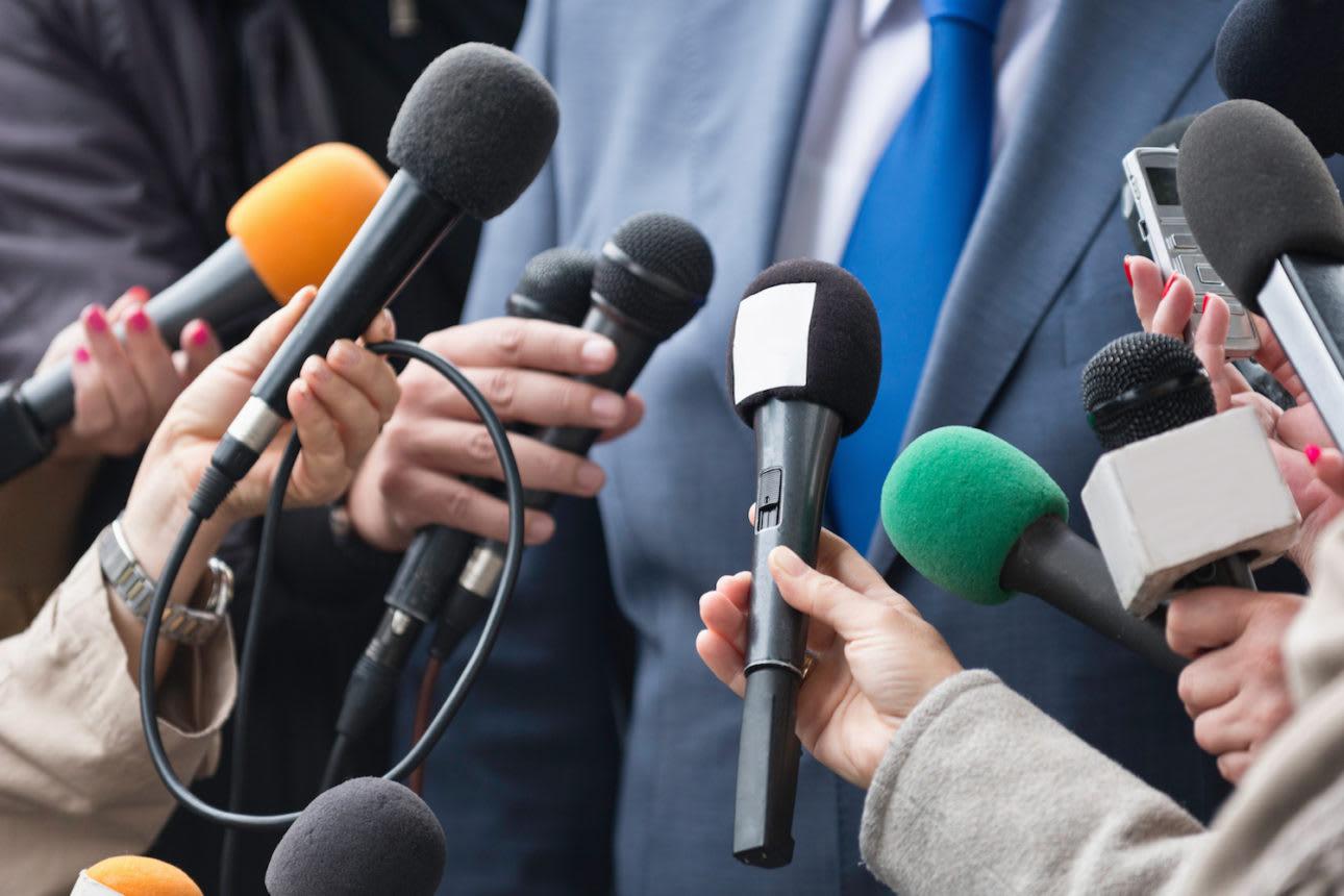 Media Relations Header