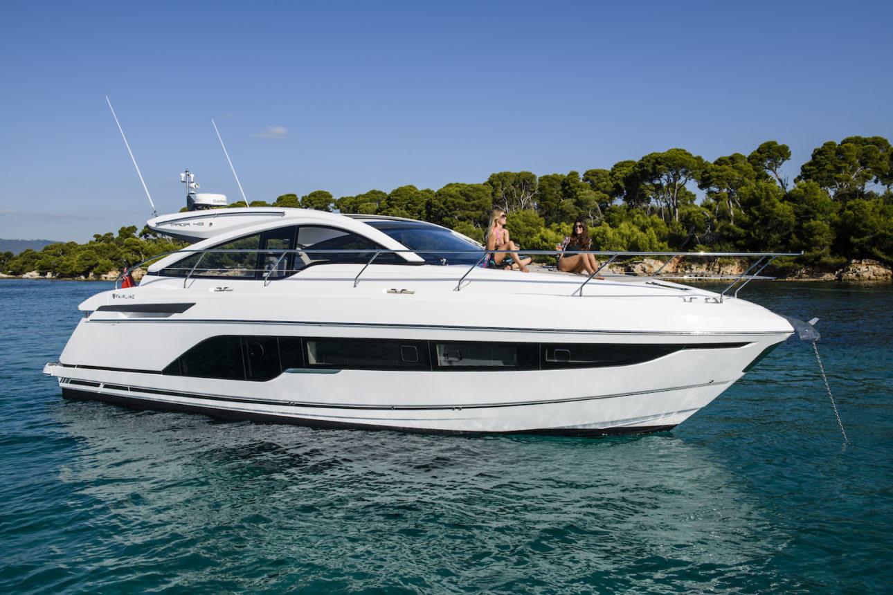 Targa 45 Open Exterior 5340 1 Fairline yachts