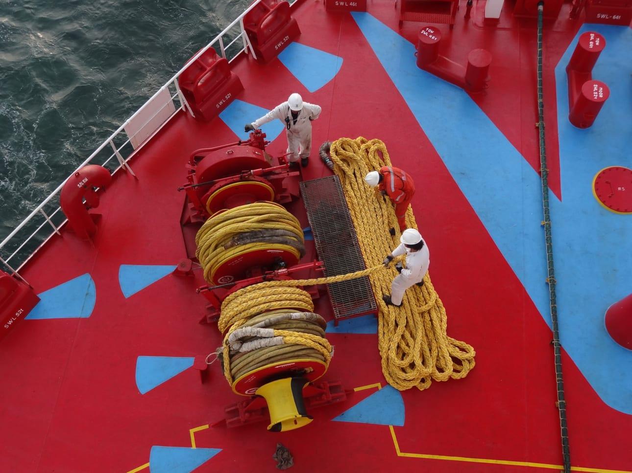 Nautilus deck