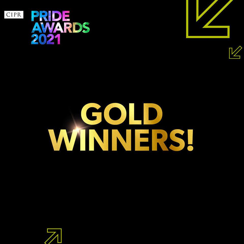 CIPR pride award MTM Agency