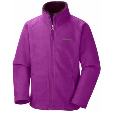 Girls Columbia Dotswarm Fleece Jacket