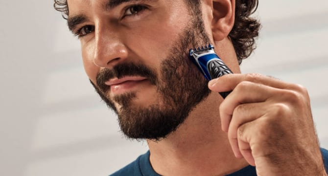 Gillette styler: trimmer, shaver & edger