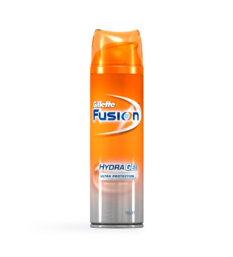 Fusion® Hydra Gel Clear Skin Shave Gel Hero-new