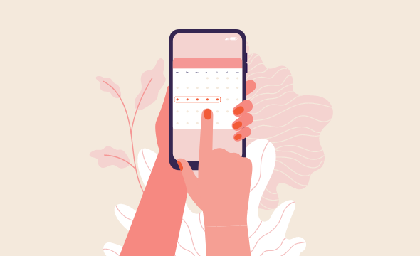 Period Calendar - Tracking Your Menstrual Cycle