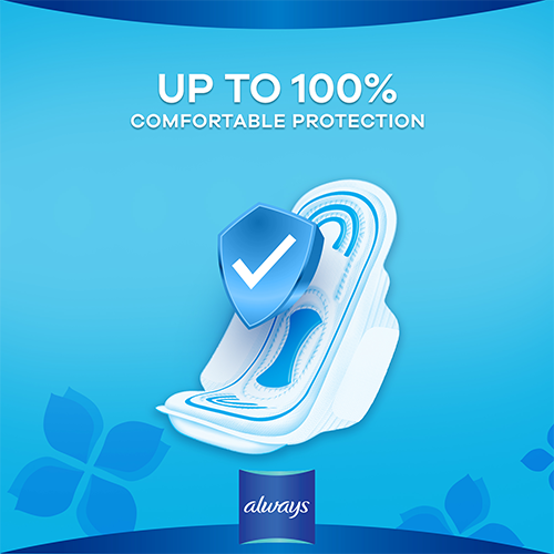 Always Maxi Thick Pads with upto 100% comfortable protection
