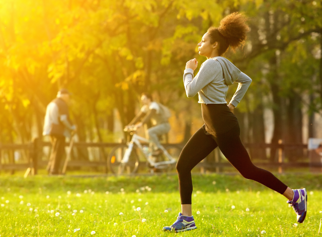Easy Outdoor Exercises for a healthy period