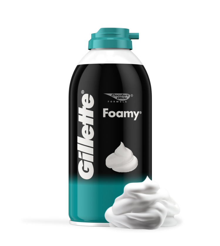 Gillette Foamy Sensitive Espuma De Afeitar
