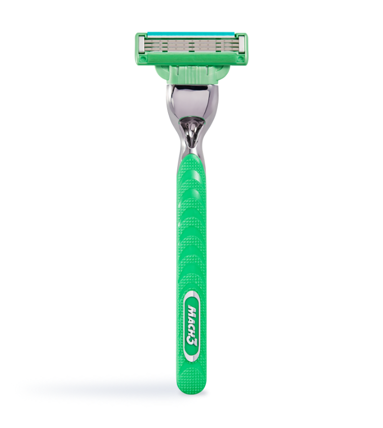 Gillette Mach3 Sensitive Máquina Para Afeitar Recargable