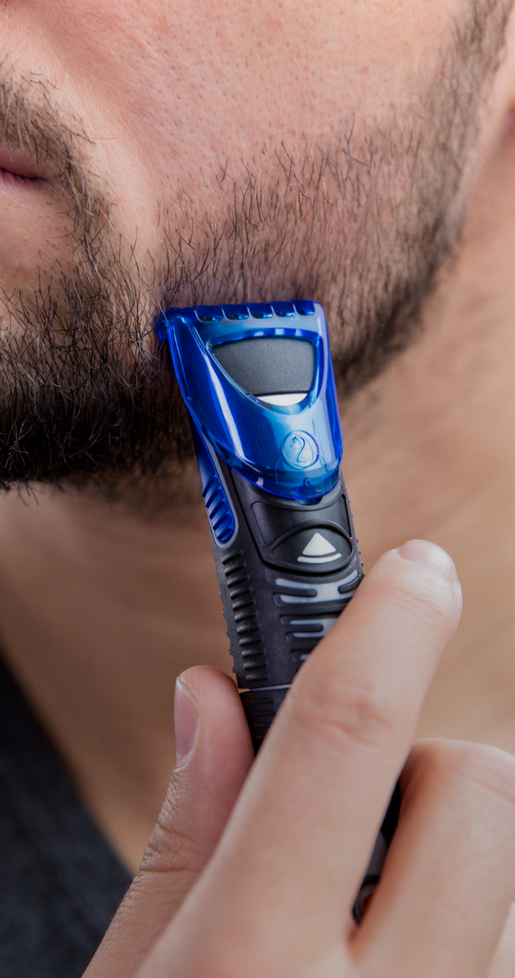 Trim your beard and emphasize the contours of your face
