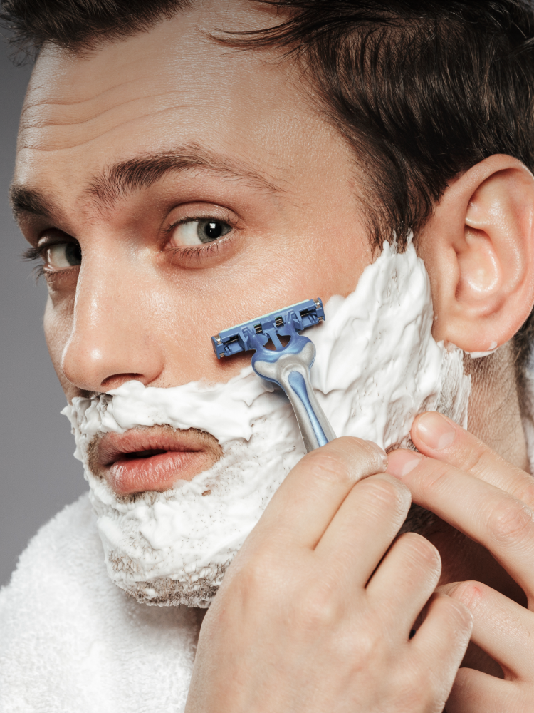 How to avoid getting spots after shaving?