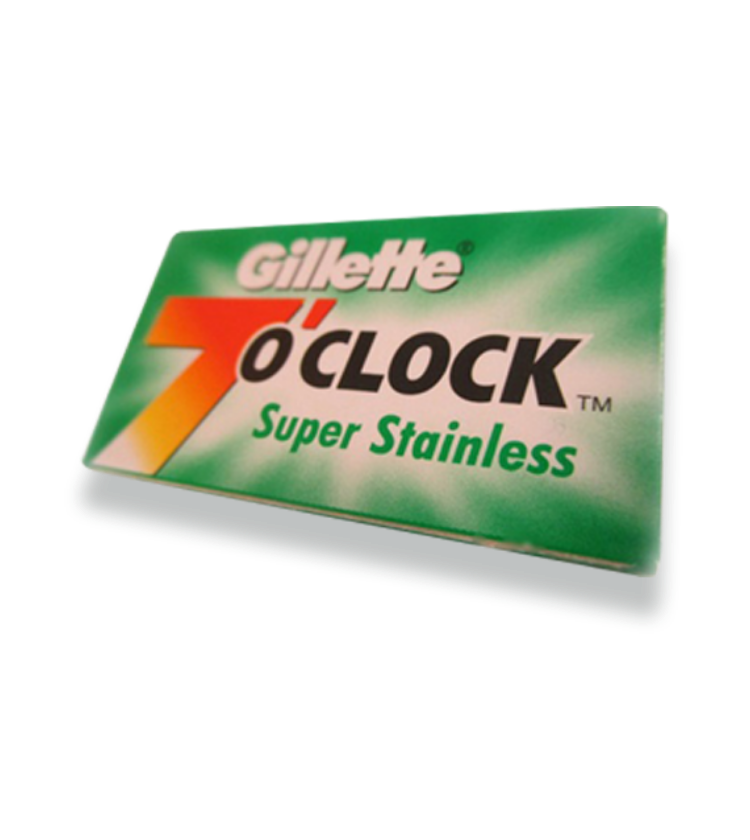 7 o'clock super stainless blades