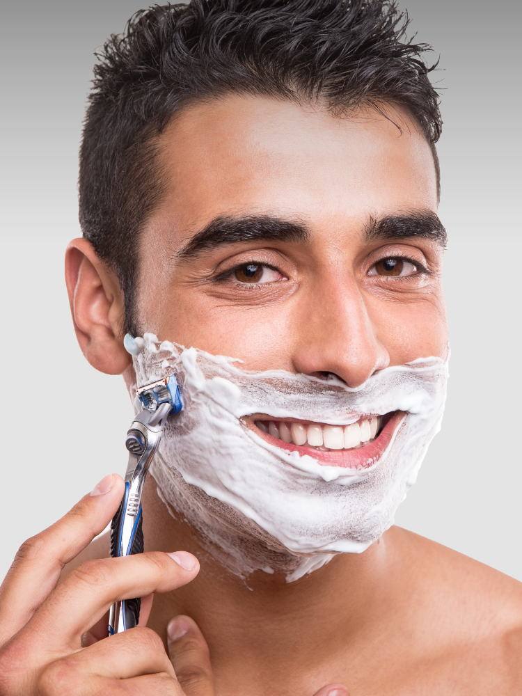 Why you should shave in direction of hair growth