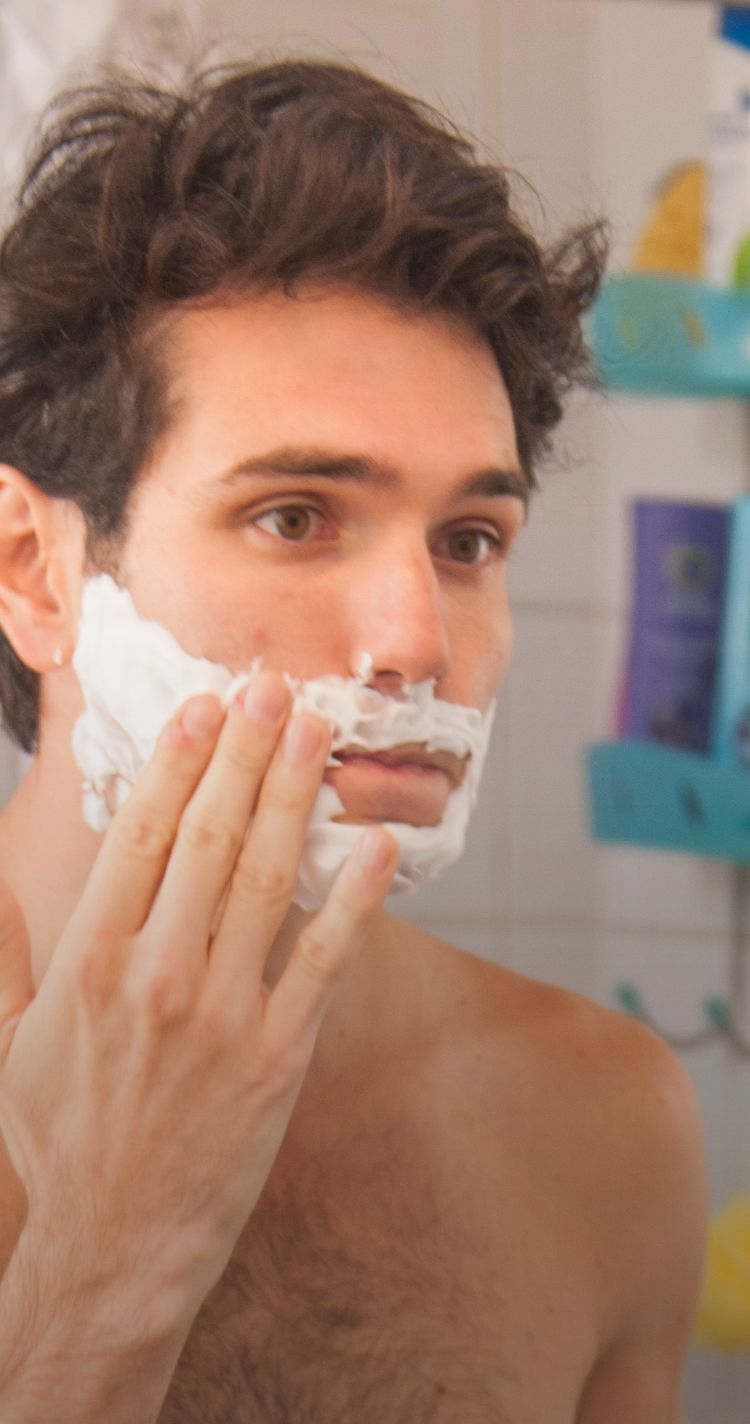 Smooth and less irritating shave