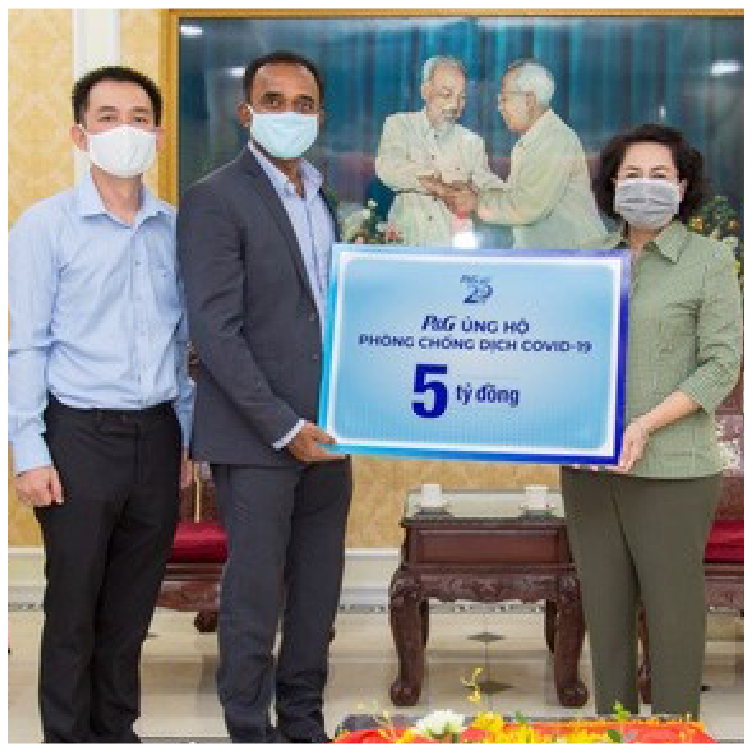 Invietnam, we are providing funds to purchase ppe for medical staff.