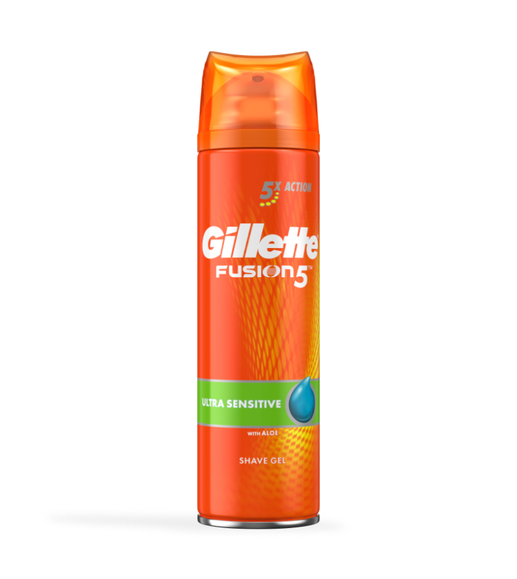 Gel Na Holení Gillette® Fusion5™ Ultra Sensitive