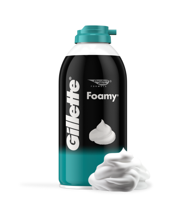 ESPUMA DE AFEITAR GILLETTE FOAMY PIEL SENSIBLE Hero