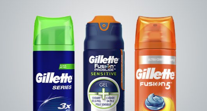 Gel e schiuma da barba Gillette