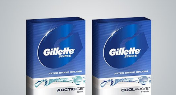 Gillette Series After Shave Splash