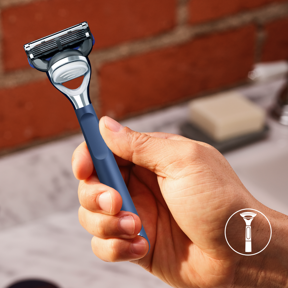 [nl-NL] - Shave and Edging Razor - Carousel 5 Blue