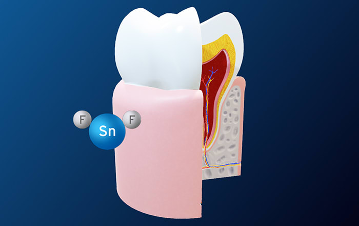 Stannous-containing dentifrice reduces gingival bleeding and balances the oral microbiome
