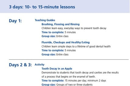 3 days: 10-15 Minute lessons Preview