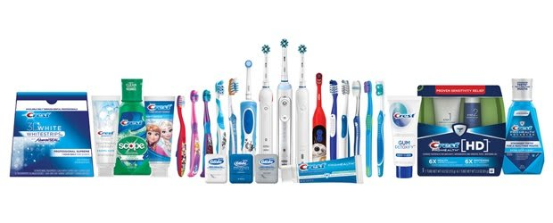 Oral B Professional Products Crest Professional Products