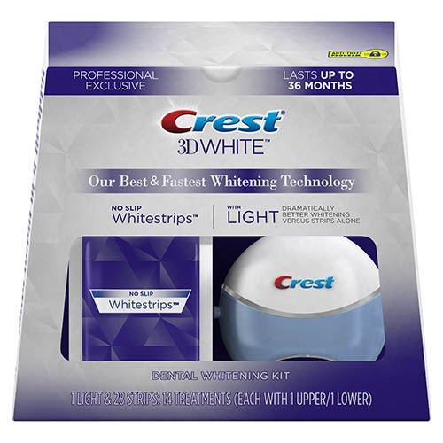 Crest 3DWhite Whitestrips with Light Pro Exclusive
