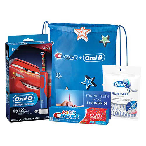Crest® + Oral-B® Kids 3+ Electric Rechargeable System