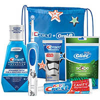 Crest + Oral-B Kids 6+ Electric Rechargeable Bundle