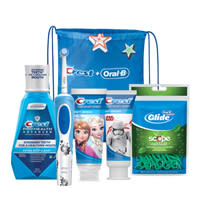 Crest + Oral-B Kids 8 Plus Power Bundle