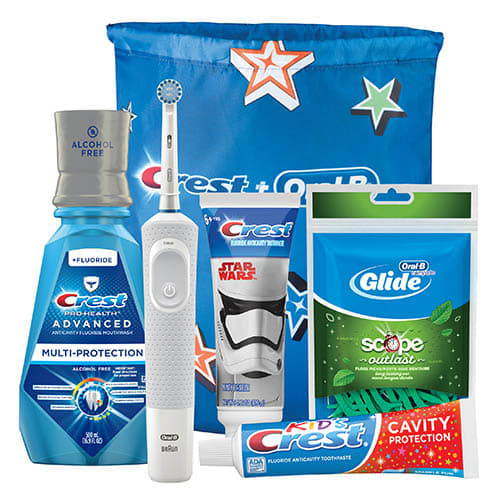 Crest + Oral-B Kids  6+ Electric Rechargeable System
