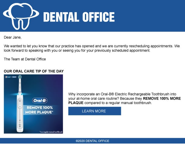 Dental Professional Email